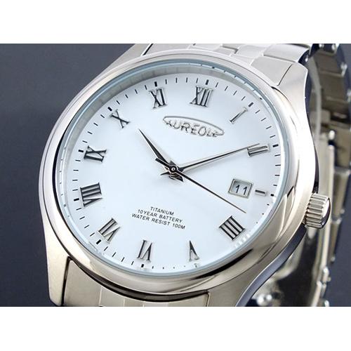 オレオール AUREOLE メンズ ドレス 腕時計 SW-483M-6