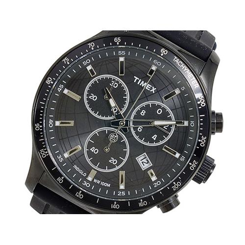 タイメックス TIMEX クオーツ メンズ クロノ 腕時計 T2N818