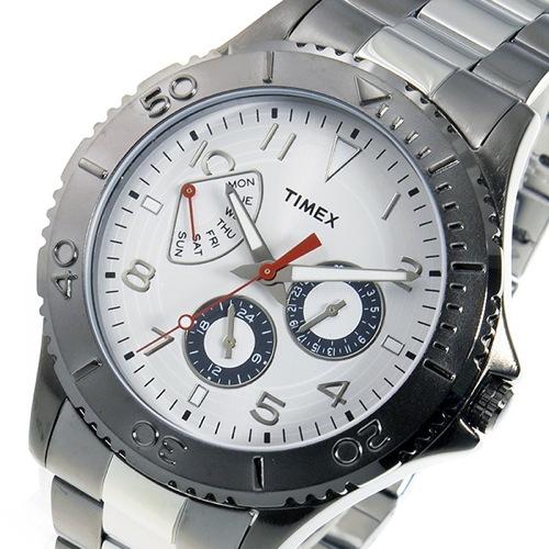 タイメックス TIMEX クオーツ メンズ 腕時計 T2P038 ホワイト