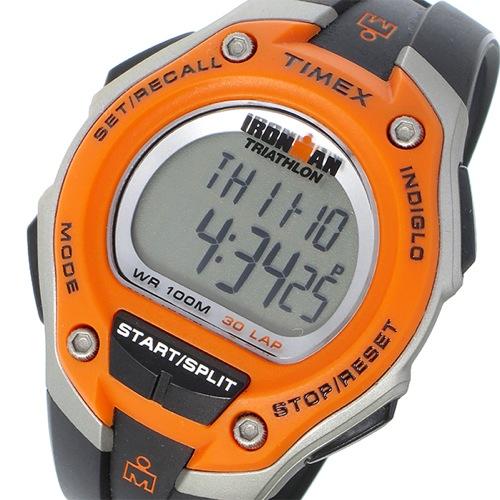 タイメックス TIMEX アイアンマン IRONMAN クオーツ メンズ 腕時計 T5K529 オレンジ