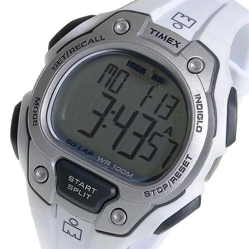 タイメックス TIMEX アイアンマン クオーツ メンズ 腕時計 T5K690 ホワイト