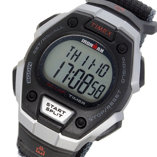 タイメックス TIMEX アイアンマン IRONMAN クオーツ メンズ 腕時計 T5K826 ブラック
