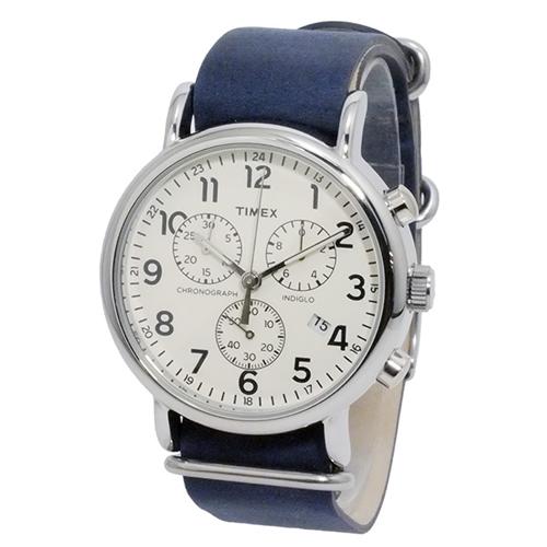 タイメックス ウィークエンダー クロノ 腕時計 TW2P62100 ホワイト 国内正規