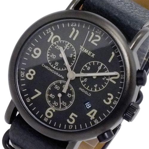 タイメックス ウィークエンダー クロノ 腕時計 TW2P62200 ブラック 国内正規