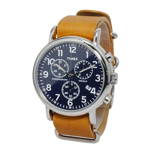タイメックス ウィークエンダー クロノ 腕時計 TW2P62300 ネイビー 国内正規