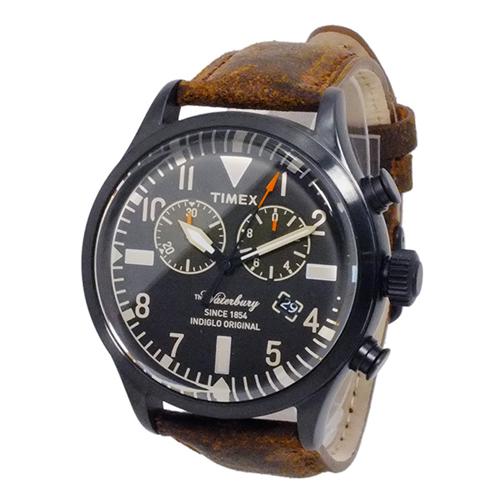 タイメックス ウォーターベリー クロノ 腕時計 TW2P64800 ブラック 国内正規