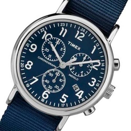 タイメックス ウィークエンダー メンズ 腕時計 TW2P71300-J ブルー 国内正規
