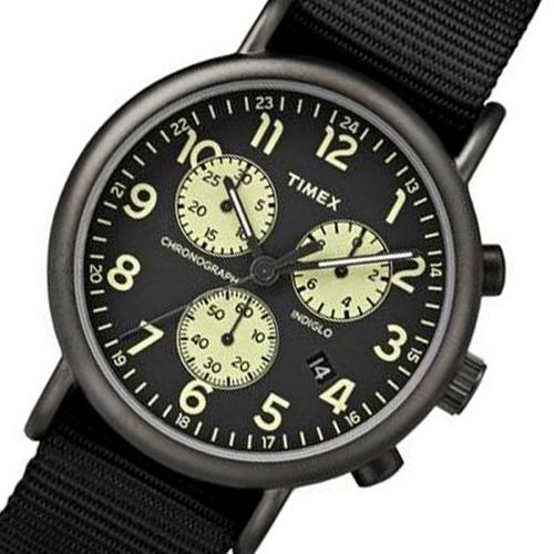 タイメックス ウィークエンダー メンズ 腕時計 TW2P71500-J ブラック 国内正規