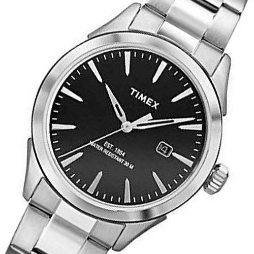 タイメックス チェサピーク クオーツ メンズ 腕時計 TW2P77300 ブラック 国内正規