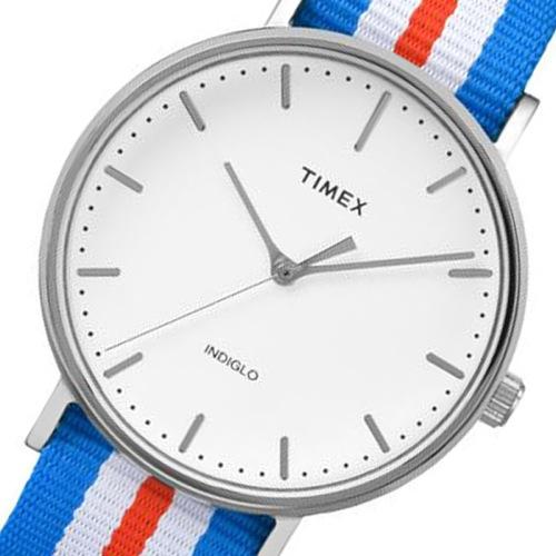 タイメックス ウィークエンダー メンズ 腕時計 TW2P91100 ホワイト 国内正規