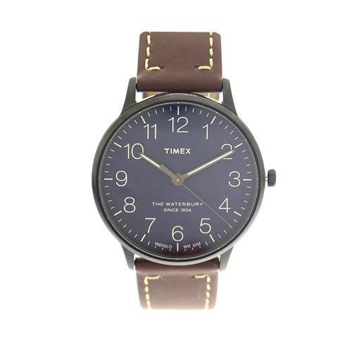 タイメックス TIMEX 腕時計 メンズ TW2R25700 クォーツ ネイビー ブラウン></a><p class=blog_products_name