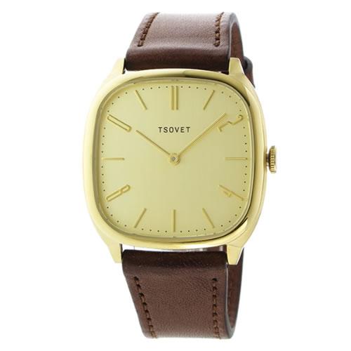 ソベット JPT-TW35 クオーツ ユニセックス 腕時計 TW440412-04 シャンパンゴールド></a><p class=blog_products_name