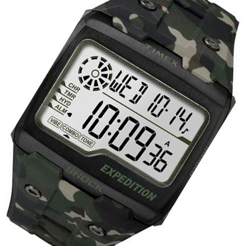 タイメックス グリッドショック クオーツ メンズ 腕時計 TW4B02900 カモ 国内正規