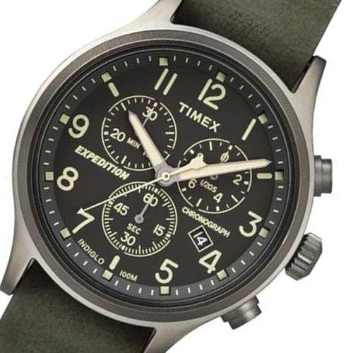 タイメックス スカウト クロノ メンズ 腕時計 TW4B04100 ブラック 国内正規