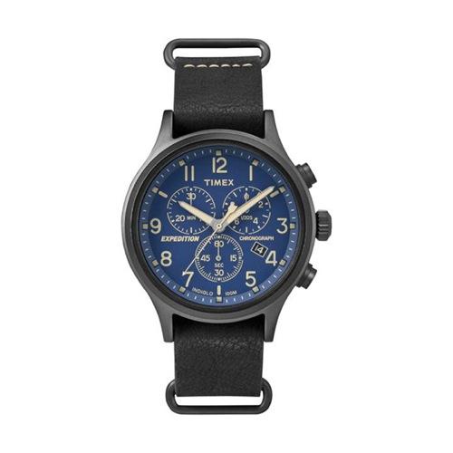 タイメックス スカウト クロノ メンズ 腕時計 TW4B04200 ネイビー 国内正規