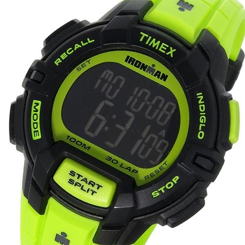 タイメックス TIMEX アイアンマン IRONMAN クオーツ メンズ 腕時計 TW5M02500 ブラック