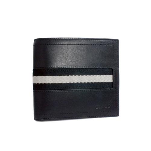 バリー BALLY 二つ折り 短財布 TYE 290 ブラック