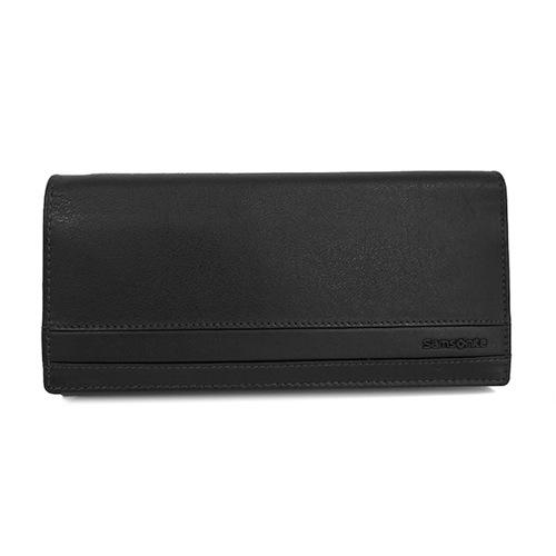 サムソナイト SAMSONITE メンズ 長財布 U70-863-BK ブラック