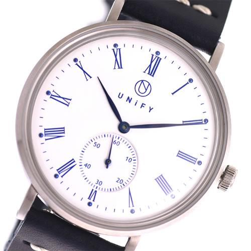 ユニファイ UNiFY ベルト2本セット クオーツ 腕時計 UF-002WH-BKNV ホワイト></a><p class=blog_products_name