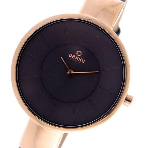 オバク OBAKU クオーツ ユニセックス 腕時計 V149LXVJRJ グレー></a><p class=blog_products_name