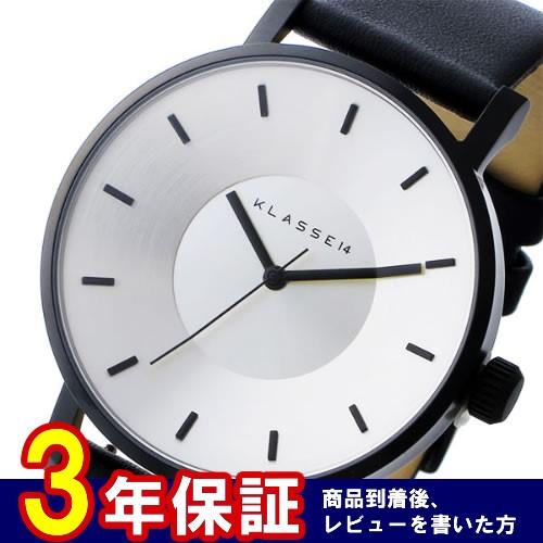 クラス14 Volare 42mm ユニセックス 腕時計 VO14BK001M シルバー/ブラック></a><p class=blog_products_name