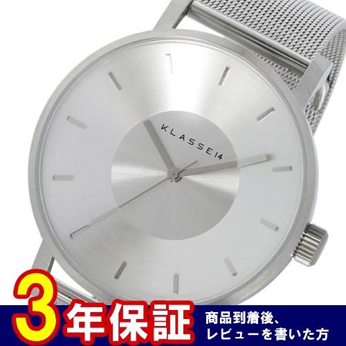 クラス14 Volare 42mm ユニセックス 腕時計 VO14SR002M シルバー></a><p class=blog_products_name