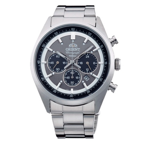 オリエント ネオセブンティーズ クロノ メンズ 腕時計 WV0011TX グレー 国内正規