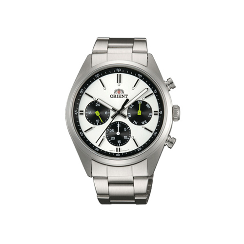 オリエント ORIENT ネオセブンティーズ Neo70's パンダ PANDA クオーツ メンズ クロノ 腕時計 WV0011UZ 国内正規