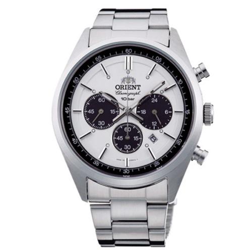 オリエント ネオセブンティーズ クロノ メンズ 腕時計 WV0041TX ホワイト 国内正規