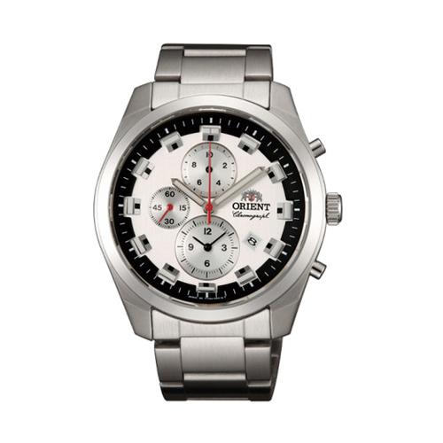 オリエント ORIENT ネオセブンティーズ Neo70's ビッグケース クオーツ メンズ クロノ 腕時計 WV0451TT 国内正規