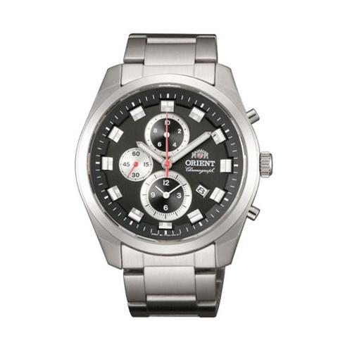 オリエント ORIENT ネオセブンティーズ Neo70's ビッグケース クオーツ メンズ クロノ 腕時計 WV0461TT 国内正規
