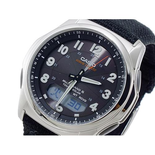 カシオ CASIO ウェーブセプター WAVE CEPTOR ソーラー メンズ 腕時計 WVA-M630B-1AJF