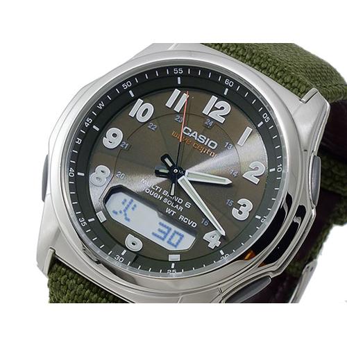 カシオ CASIO ウェーブセプター WAVE CEPTOR ソーラー メンズ 腕時計 WVA-M630B-3AJF