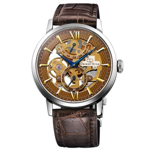 オリエントスター スケルトン プレステージショップ限定 自動巻き 腕時計 WZ0051DX 国内正規