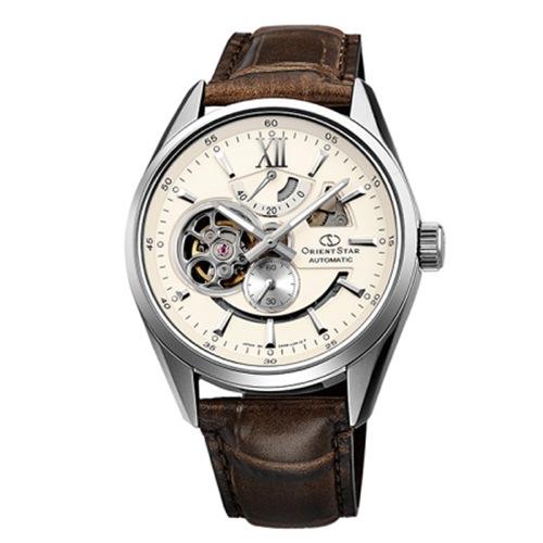 オリエント オリエントスター 自動巻き メンズ 腕時計 WZ0291DK ブラウン 国内正規