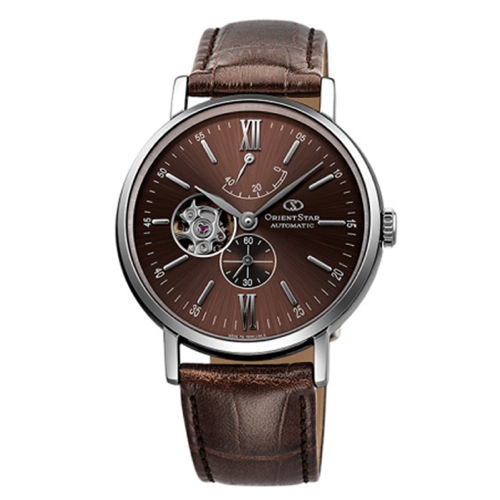 オリエント オリエントスター 自動巻き メンズ 腕時計 WZ0301DK ブラウン 国内正規