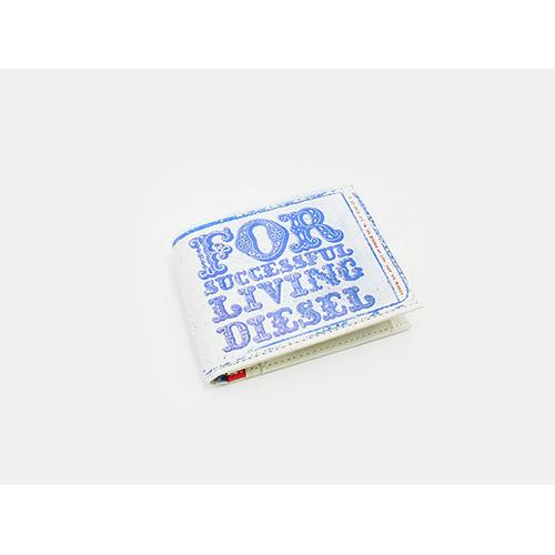 ディーゼル DIESEL 二つ折り 短財布 X01708-PR795-H4647
