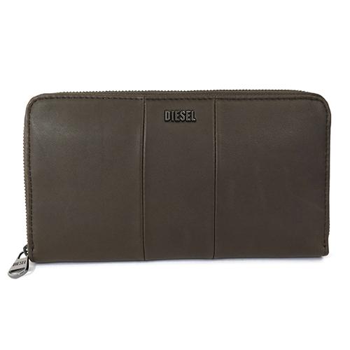 ディーゼル DIESEL 長財布 ラウンドファスナー X02439-PR472-H2179 ブラウン
