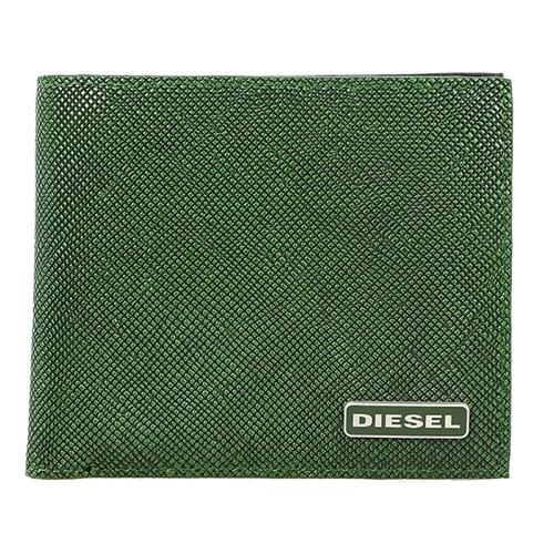 ディーゼル メンズ 二つ折り 短財布 X03344-P0517-H5429 グリーン