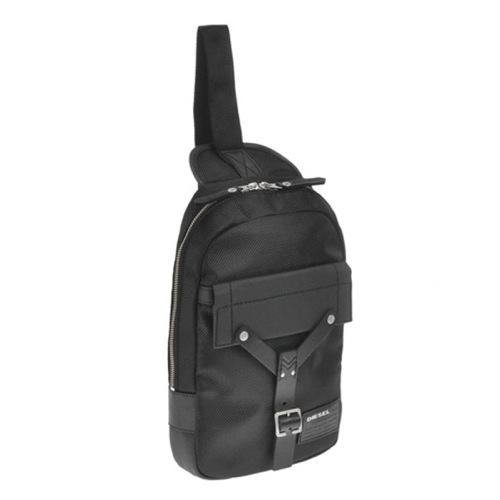 ディーゼル DIESEL メンズ ボディバック X03478-P0880-H1669 ブラック