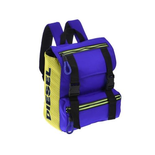 ディーゼル DIESEL メンズ リュック バックパック X03786-P0882-H5305 ブルー