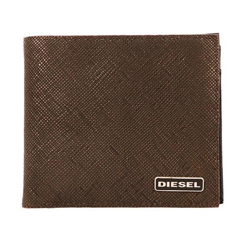 ディーゼル メンズ 二つ折り 短財布 X03909-P0517-H6028 ブラウン
