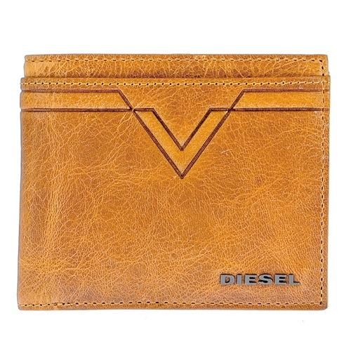 ディーゼル メンズ 二つ折り 短財布 X03932-PR227-T2216 ライトブラウン