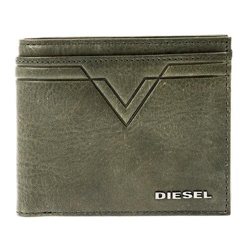 ディーゼル メンズ 二つ折り 短財布 X03932-PR227-T8013 カーキ
