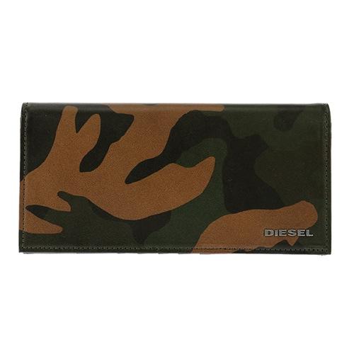 ディーゼル メンズ 長財布 X04129-P1074-H5477 カモフラ