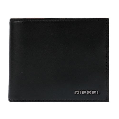 ディーゼル メンズ 二つ折り 短財布 X04131-P1074-H4974 ブラック/カモフラ