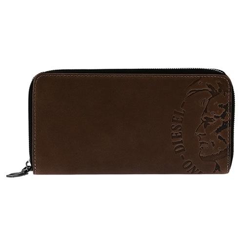 ディーゼル メンズ 長財布 X04762-PR160-T8014 ブラウン