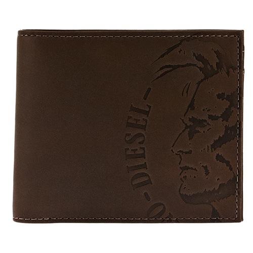 ディーゼル メンズ 二つ折り財布 X04763-PR160-T8014 ブラウン